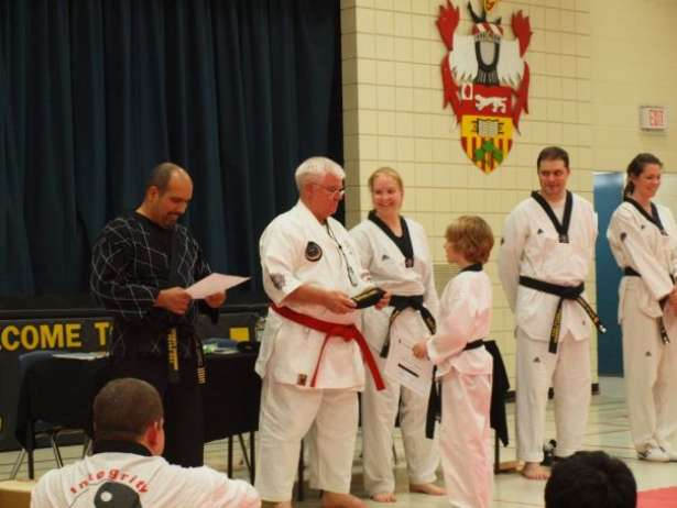 Robert 1st Dan Belt Presentation
