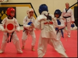 Kids Three on One Sparring